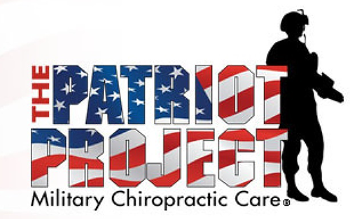 Patriot Project logo- Chiropractic Care for our Military